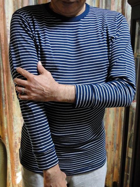 【ベルメゾン】綿100%ホットコット 前から見た着衣写真