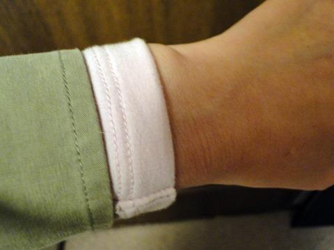 ヒートテックエクストラウォーム(極暖)長袖の袖丈