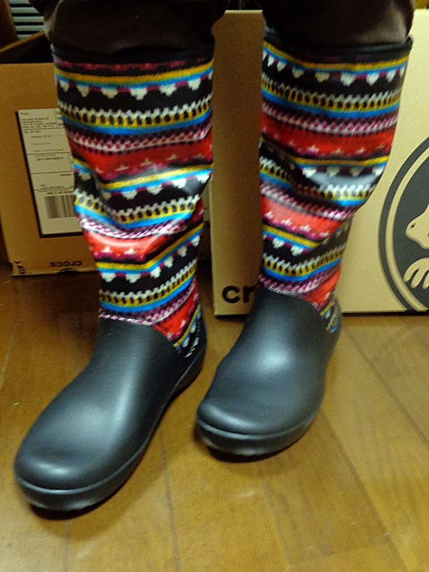 【Crocs】thermalucent boot w