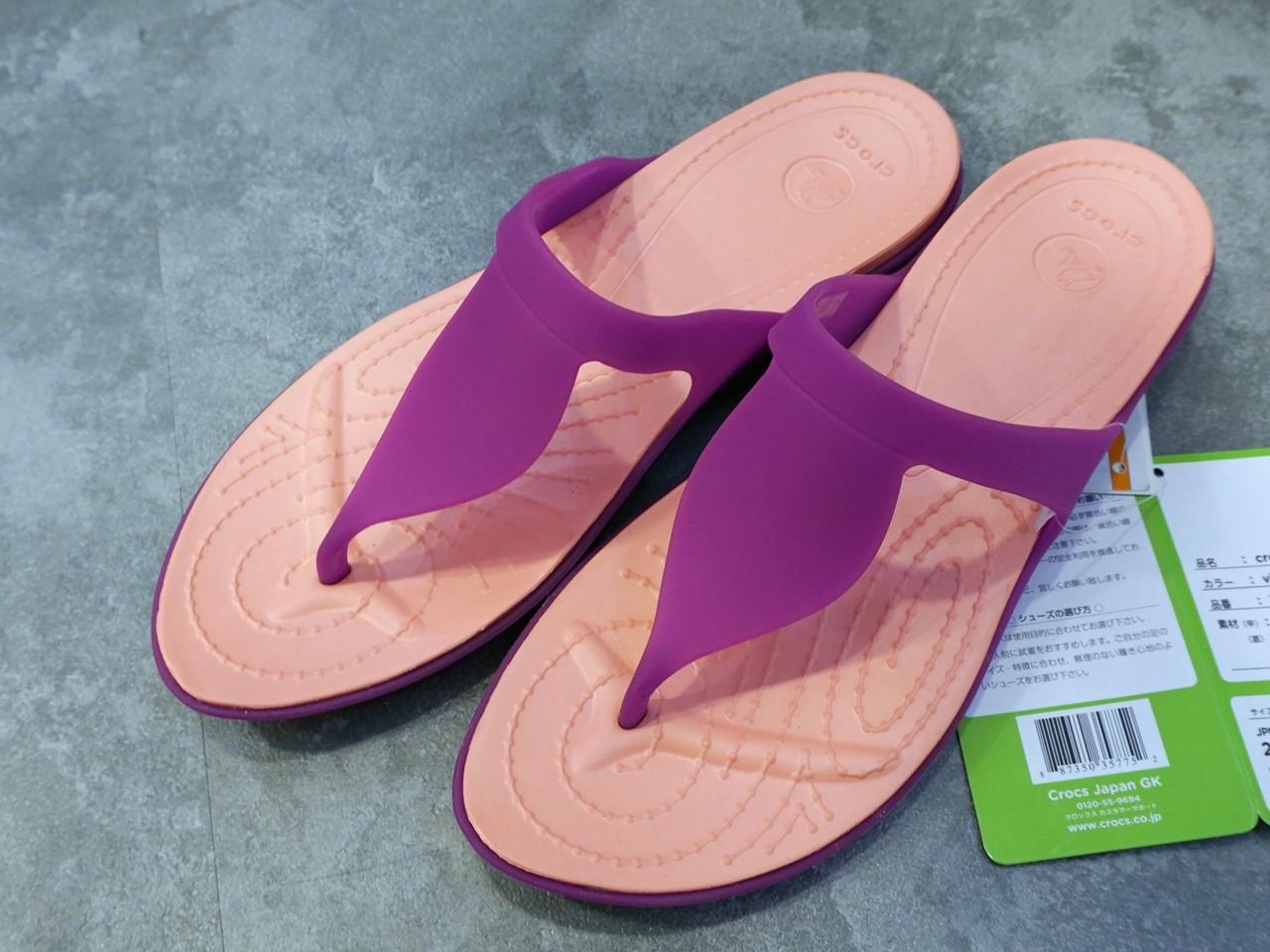 【crocs(クロックス)】crocs rio flip w クロックス リオ フリップ ウィメン
