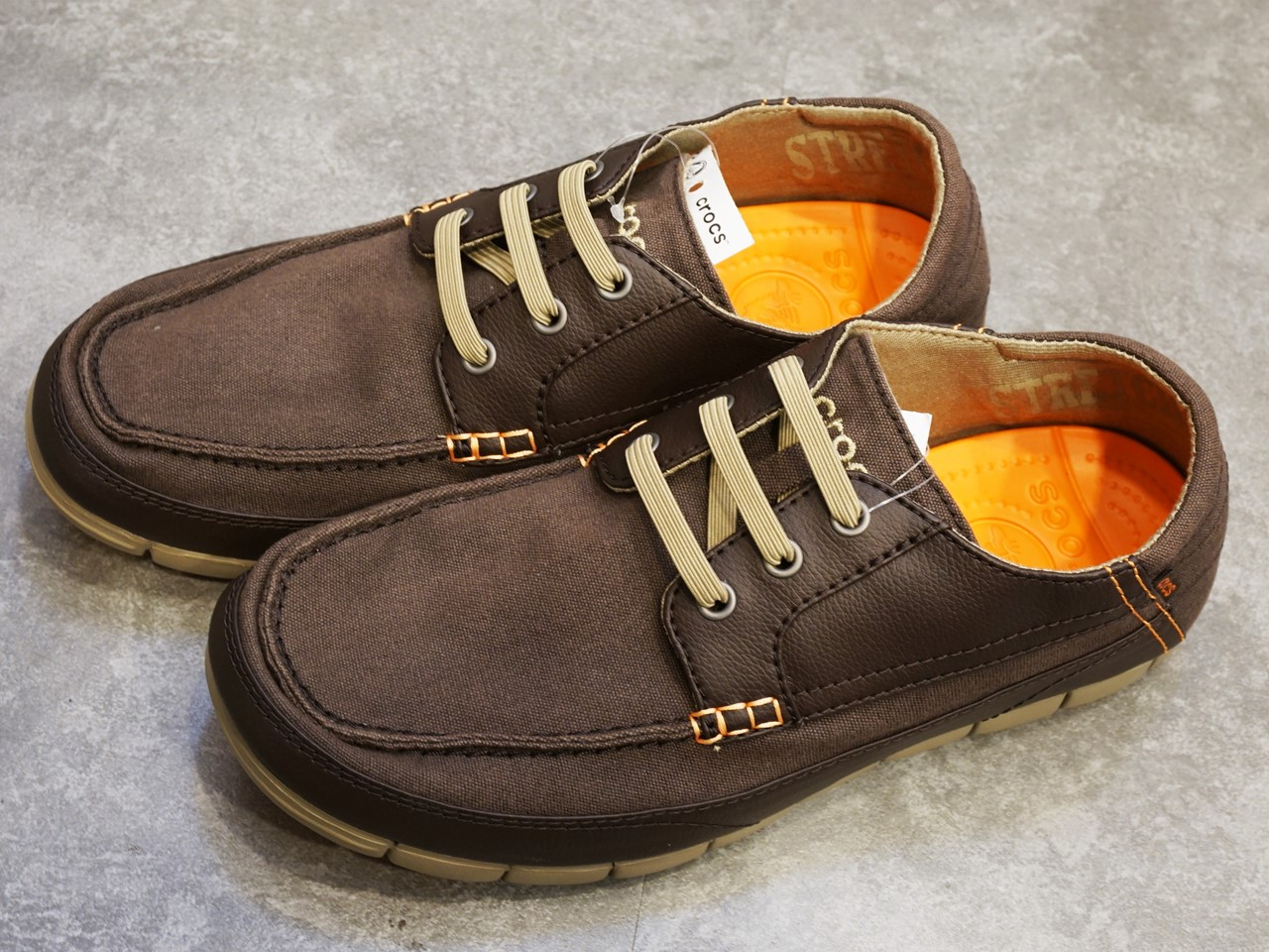 stretch sole lace-up men ストレッチ ソール レースアップ メン