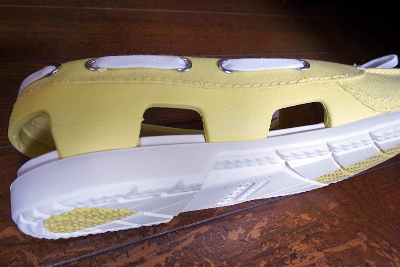 beach line hybrid boat shoe w (ビーチライン ハイブリッド ボート シュー ウィメン)アクセントの紐