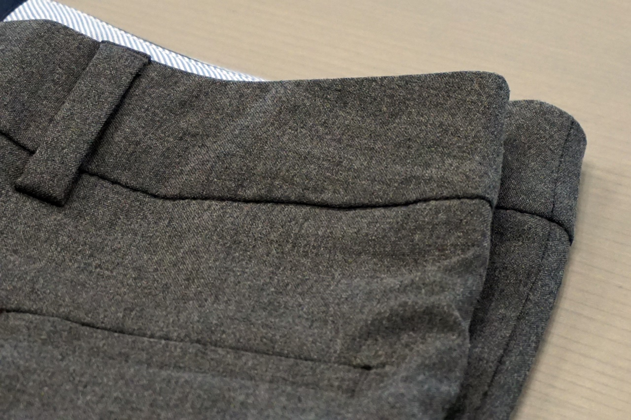 レディス・美型シルエット・体型別ドレスパンツ/O体型とA型