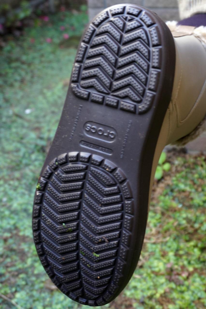 crocs ColorLite mid boot w クロックス カラーライト ミッドブーツ ウィメンの裏底