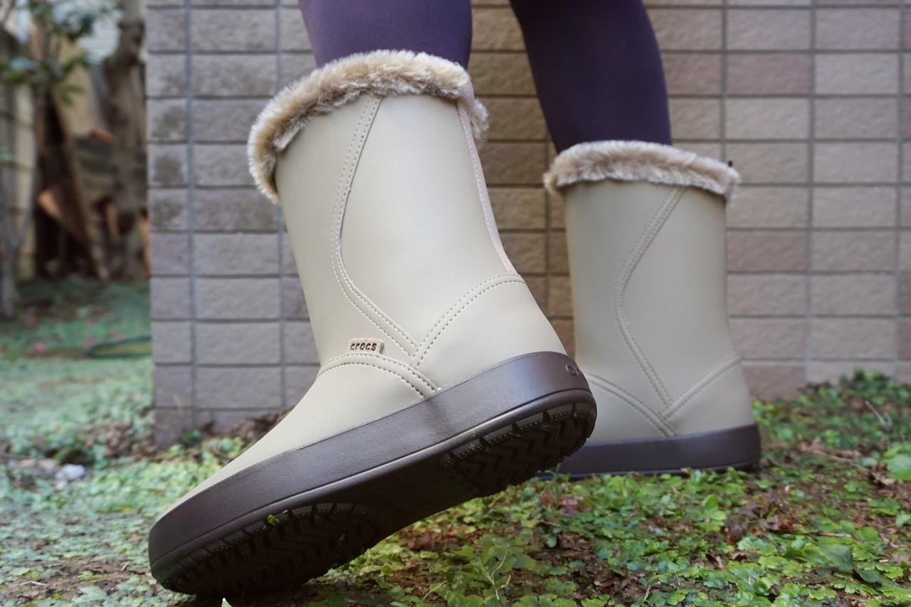 crocs ColorLite mid boot w クロックス カラーライト ミッドブーツ ウィメン