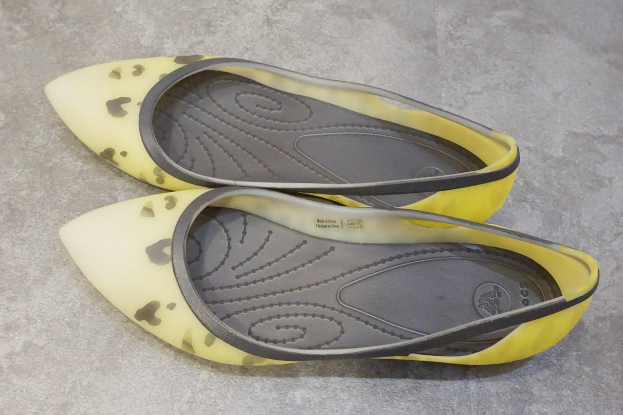 crocs rio leopard fade flat w クロックス リオ レオパード フェイド フラット ウィメン