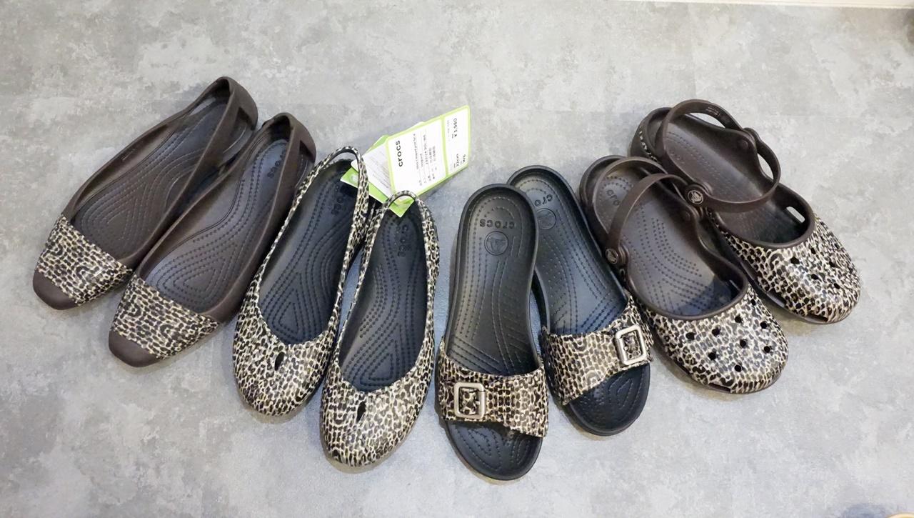 【Crocs(クロックス)】レオパード柄