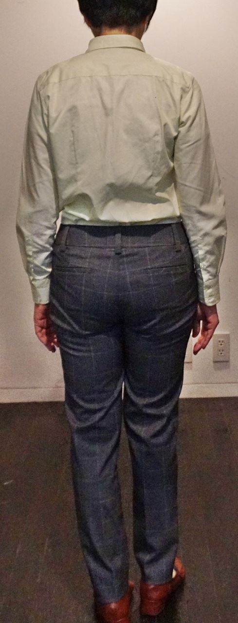 【LAND'SEND(ランズエンド)】美型シルエットのシャツ&パンツ