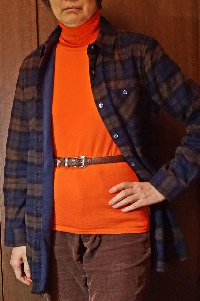 【ベルーナ】あったか裏フリースシャツ
