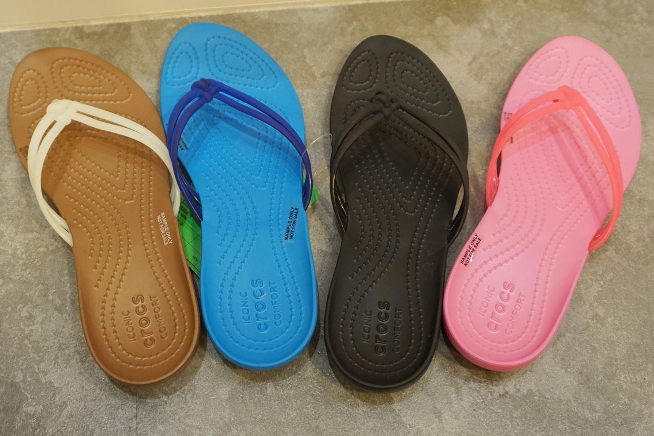 Women's Crocs Isabella Flip クロックス イザベラ フリップ ウィメン