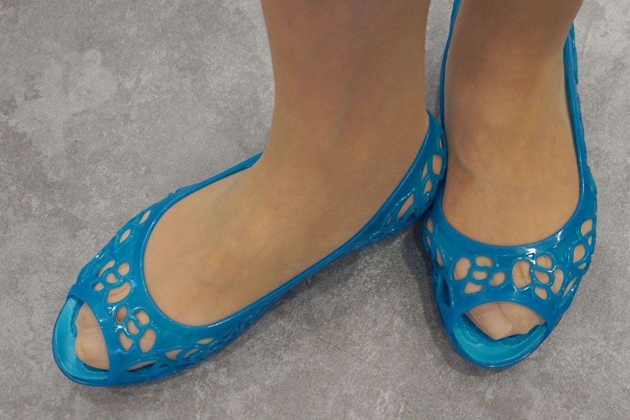 【Crocs(クロックス)】Women's Crocs Isabella Jelly Flat クロックス イザベラ ジェリー フラットウィメン