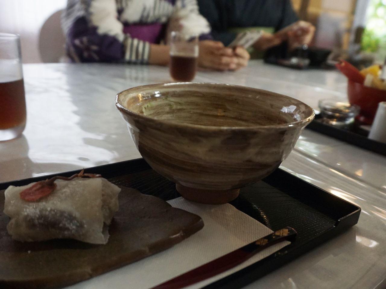 古民家「鎌倉あけぼの」(旧、一期一会)で甘味