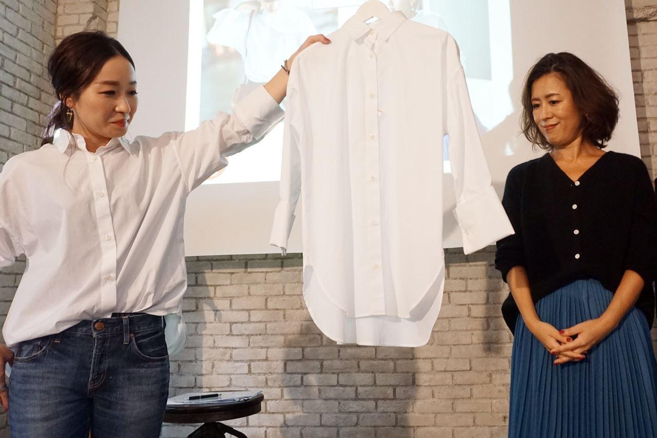 ミモレ×ベルメゾン 主役級ドレスシャツ
