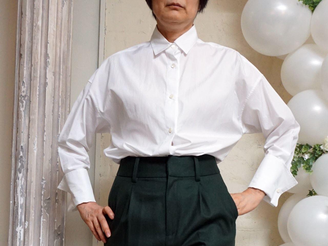 【ミモレ×スタイルノート】トーマスメイソン使用コットンシャツ