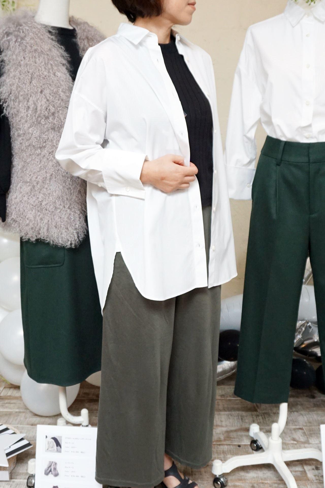 ミモレ×スタイルノート ドレスシャツをはおって