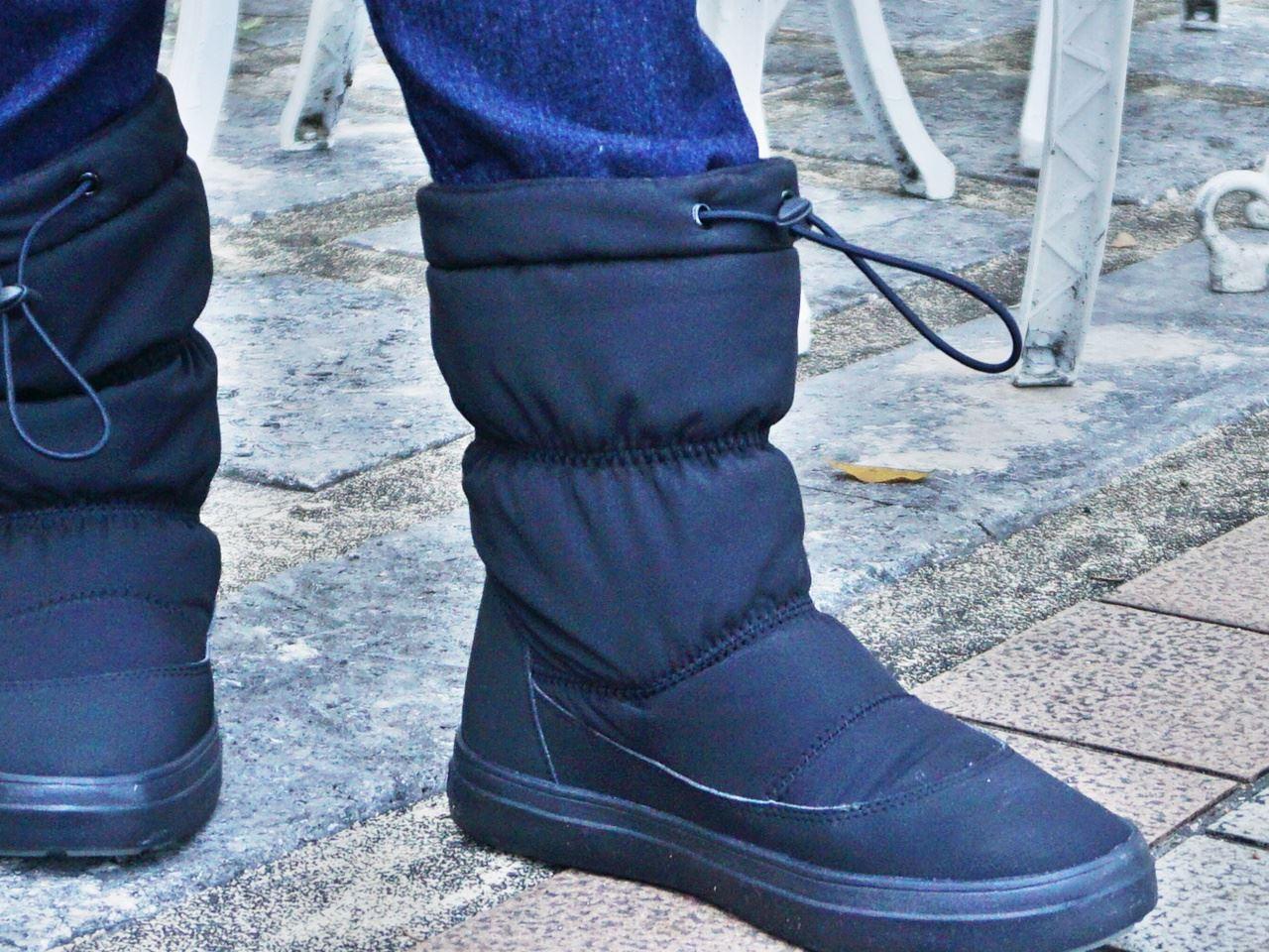 【Crocs(クロックス)】Women's LodgePoint Pull-on Boot ロッジポイント プルオン ブーツ ウィメン