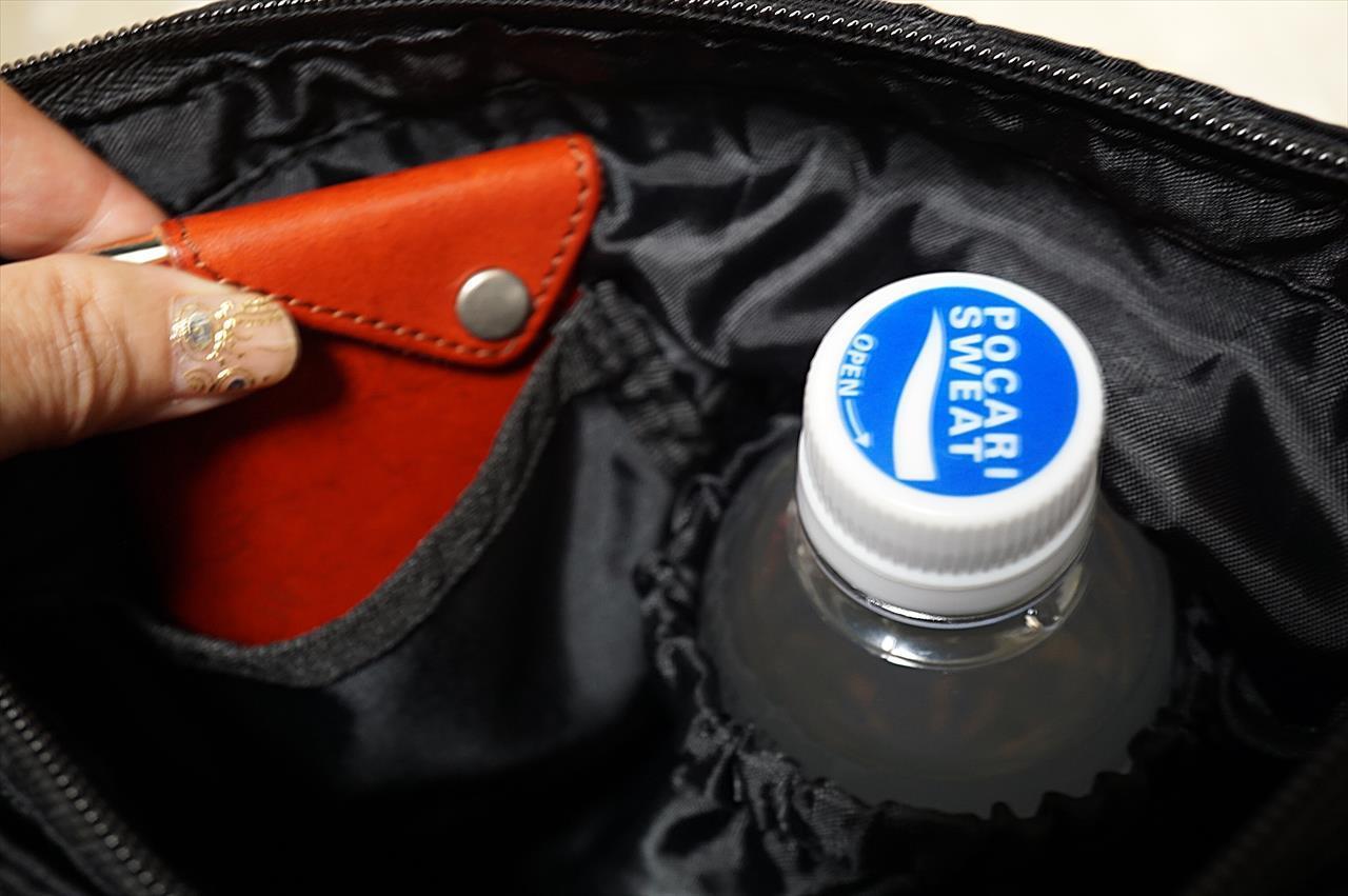 リブ イン コンフォート はまじとコラボ ポケットいっぱい 毎日の相棒 ショルダーバッグ〈ブラック〉